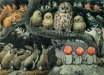 Tomtebobarnen – Elsa Beskow Postcard