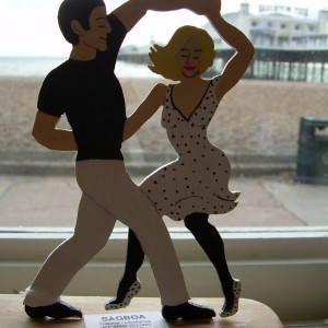 Swing it- Dancing Couple Figurine