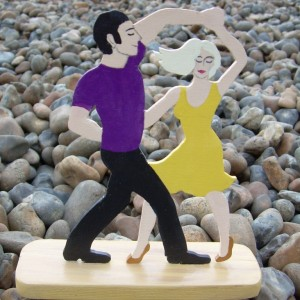 Let's Dance – Dance Couple Figurine