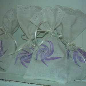 Lavender Bags – Swedish Handprinted and filled with dried Lavender