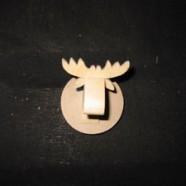 Swedish Moose Head Trophy – Fridge Magnet