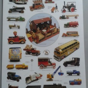 Collectable Models of Commercial Vintage Vehicles -Swedish Nostalgia Poster