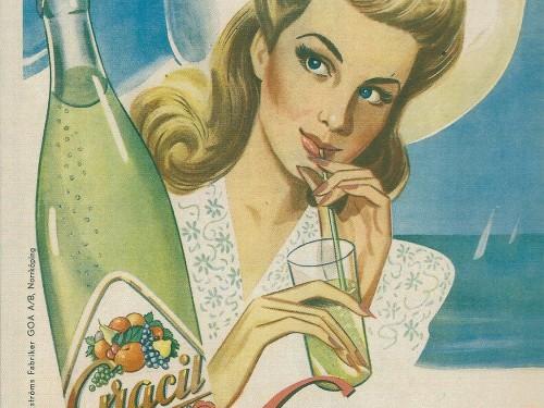 Gracil Fizzy Drink – Nostalgia postcard