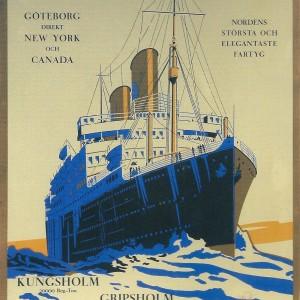 Svenska Amerika Linien Gripsholm – Nostalgia Postcard