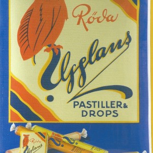 The Owl's Pastilles (Ugglans Röda Bär) – Nostalgia card