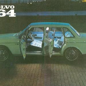 Volvo 164/4 Doors – Swedish Nostalgia Postcard