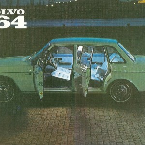 Volvo 164/4 doors – Nostalgia Poster
