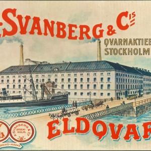 Eldqvarn  Stockholm – Nostalgia Postcard