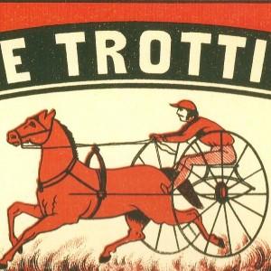 """The Trotter"" Swedish Match – Nostalgia Postcard"