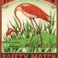 """The Flamingo"" Swedish Match – Nostalgia Postcard"