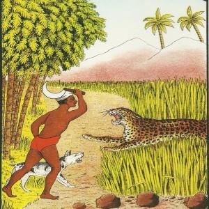 """Cheeta Swedish Match"" – Nostalgia Postcard"