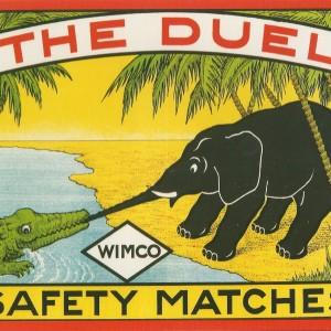 The Duel – Nostalgia Postcard