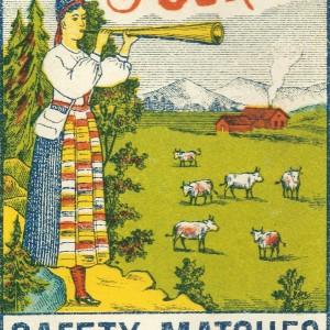 """The Tourist"" Swedish Match – Nostalgia Postcard"