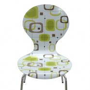 """""""Floating Lime"""" – Laminated Arne Jacobsen Style Chair from Kitschiku"""