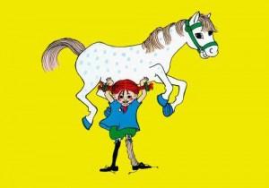 Pippi Långstrump (*Pippi Longstocking) Poster 50 x 70 cm