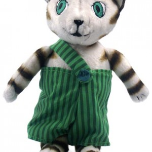 Findus the Cat Doll 18 cm high – Cute Doll from the Swedish books about Findus & Pettson
