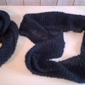 """""""Oh So Cosy"""" – Soft Blue Snood/Scarf  – Made in Sweden"""