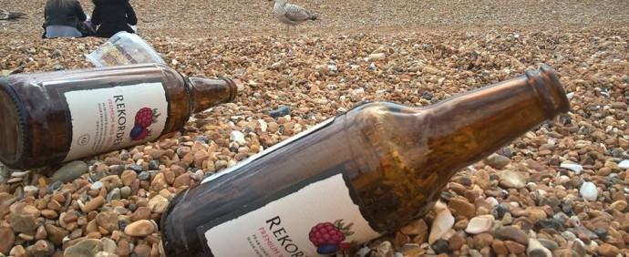 cider på beachen
