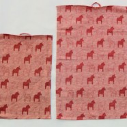 Oh So Swedish Kitchen Towel – Dalahorse RED
