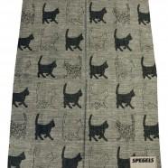 """""""CATS"""" – Kitchen Towel 50 % Linen/ 50% Cotton"""