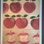 Äpplen – Apples  Framed Picture