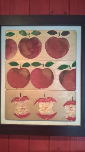 Äpplen – Apples  Framed Picture