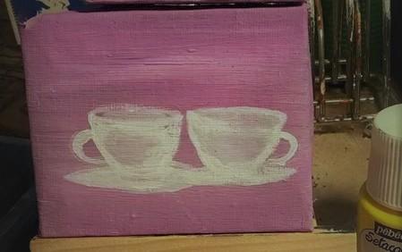 svenskt kaffe canvas